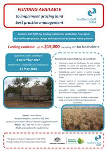 SGNRM_Grazing_EOI_Funding_Flyer_web
