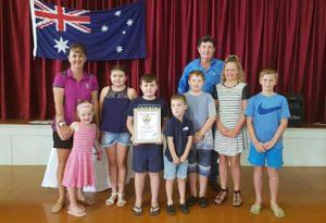 Richmond Shire Council Australia day sarus Crane Award 2018