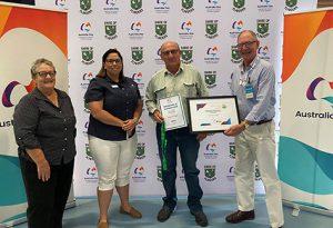 Sarus Crane Award Trevor Pugh Flinders Shire