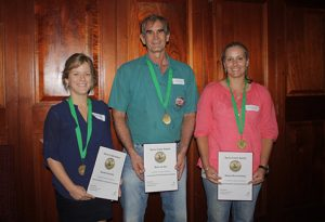 Sarus Crane winners L to R Brooke Donnelly Mark van Ryt Megan Munchenberg_2012